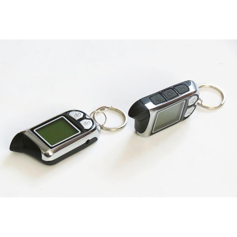Alarm SPY NOXON z powiadomieniem piloty LCD komplet z czujnikiem