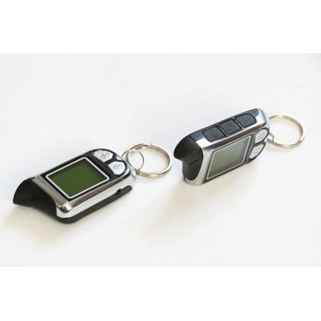 Alarm z powiadomieniem SPY piloty LCD komplet z czujnikiem