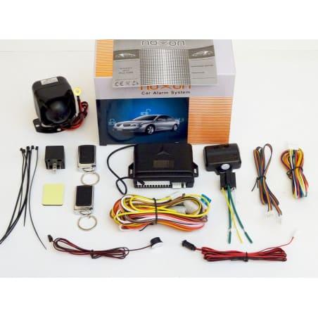 Alarm samochodowy zestaw komplet NOXON PLV200 P7