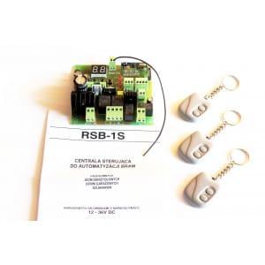 Sterownik RSB-1S bramy jednoskrzydłowej przesuwnej szlabanu