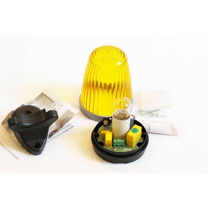 Lampa sygnalizacyjna ostrzegawcza F5095 wjazdowa bramowa 230V