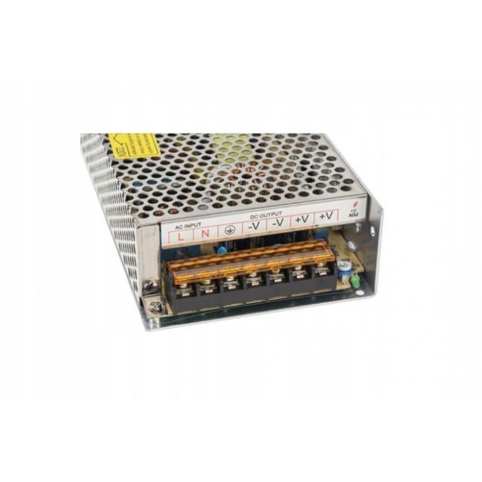 Zasilacz modułowy przetwornica 10A 12V DC