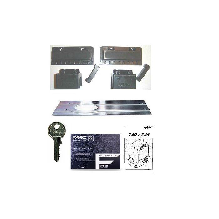 FAAC 740 DELTA 2 automat zestaw napęd bramy przesuwnej