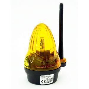 Lampa z anteną do bram...
